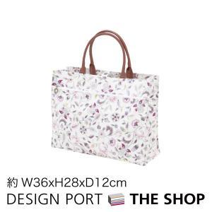 マイバッグ(ヨコ型)MINTON(ミントン)ハドンホールグレー 約W36×H28×D12cm 川島織物セルコン 生産終了予定|designport