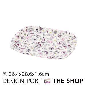 トレイ(小)MINTON(ミントン) ハドンホールグレー 36.4×28.6×1.6cm 川島織物セルコン 生産終了予定|designport
