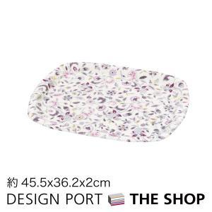 トレイ(大)MINTON(ミントン)ハドンホールグレー 45.5×36.2×2cm 川島織物セルコン 送料無料 生産終了予定|designport