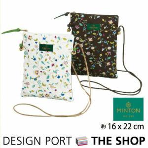 川島織物セルコン ポシェット(ショルダーバッグ) MINTON(ミントン)ハドンホールアニバーサリー(生産終了予定)|designport