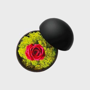 木村浩一郎 Koichiro Kimura プリザーブド フラワーボックス flower of love hot pink ローズ  ギフト フラワーギフト・母の日のプレゼント 母の日|designshop-jp