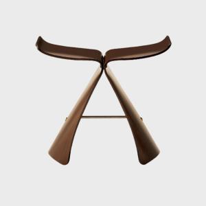 キャッシュレス還元 柳宗理 sori yanagi 天童木工 バタフライスツール 椅子 butterfly stool ローズウッド|designshop-jp