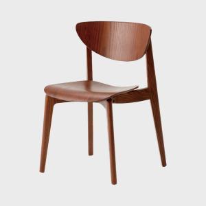 キャッシュレス還元 柳宗理 天童木工 ダイニングチェア 椅子 ブラウン|designshop-jp