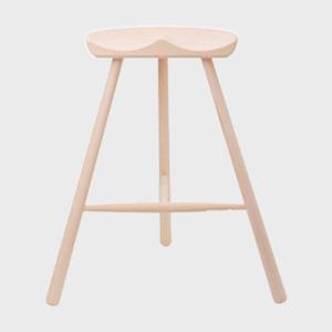 キャッシュレス還元 WERNER ワーナー社 シューメーカーチェア スツール 椅子 H69cm 無塗装 北欧|designshop-jp