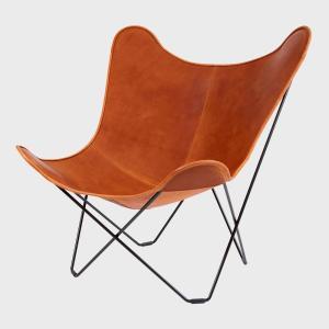 キャッシュレス還元 BKF Chair BKFチェア ブラウンレザー スウェーデン 北欧|designshop-jp