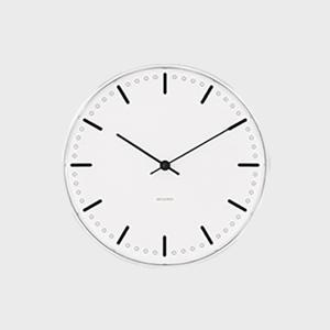 ローゼンダール アルネ ヤコブセン 掛時計 壁掛け時計 city hall シティホール φ 16cm|designshop-jp