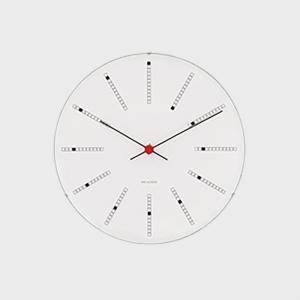ローゼンダール アルネ ヤコブセン 掛時計・壁掛け時計 bankers バンカーズ φ16cm  [...