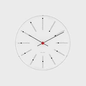 ローゼンダール アルネ ヤコブセン 掛時計・壁掛け時計 bankers バンカーズφ29cm  [ ...