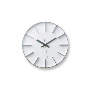 安積伸 安積朋子 edge clock φ35 ホワイト|designshop-jp