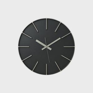 安積伸 安積朋子 edge clock φ 35 アルミニウム|designshop-jp