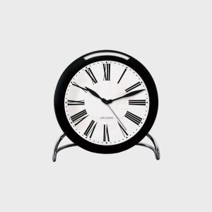 キャッシュレス還元 アルネ ヤコブセン クロック 置時計 ROMAN ローマン designshop-jp