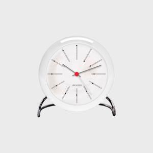 キャッシュレス還元 ローゼンダール アルネ ヤコブセン 置時計 アラーム クロック BANKERS バンカーズ designshop-jp