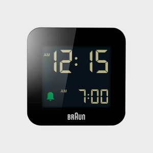 キャッシュレス還元 braun ブラウン デジタル アラーム クロック 目覚まし 時計 電波時計 bnc008 designshop-jp