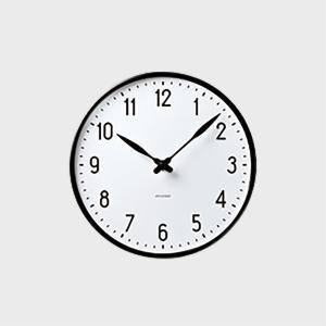 ローゼンダール アルネ ヤコブセン 掛時計・壁掛け時計 STATION ステーション 210  [ ...