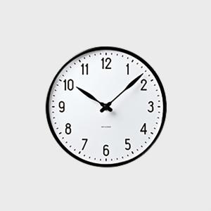 ローゼンダール アルネ ヤコブセン 掛時計・壁掛け時計 STATION ステーション 160  [ ...
