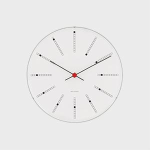 ローゼンダール アルネ ヤコブセン 掛時計・壁掛け時計 bankers バンカーズ φ21cm  [...