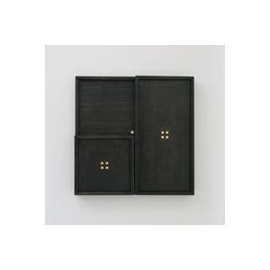 キャッシュレス還元 秀衡塗 HIDEHIRA プレート 正方形 プレート S 黒 角皿 茶托 スクエア ネコポス対応可|designshop-jp