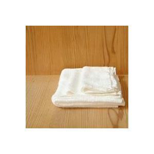 キャッシュレス還元 びわこふきん フキン 布巾 タオル  白|designshop-jp