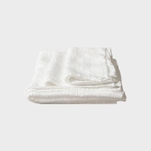 キャッシュレス還元 びわこふきん フキン 布巾 白  ネコポス対応可|designshop-jp