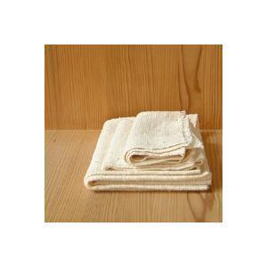 キャッシュレス還元 びわこふきん フキン 布巾 和太布 わたふ 生成り  ネコポス対応可|designshop-jp