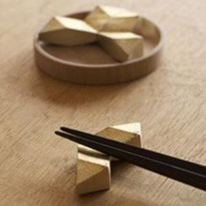 キャッシュレス還元 FUTAGAMI フタガミ 箸置き セット 結晶   ネコポス対応可|designshop-jp