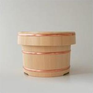 おひつ お櫃 東屋 木曽さわら 木製 2合用|designshop-jp