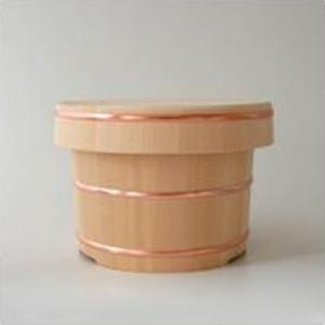 おひつ お櫃 東屋 木曽さわら 木製 3合用|designshop-jp
