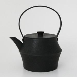 キャッシュレス還元  ヨーガンレール ババグーリ 釜定 南部鉄器 南部 鉄瓶 ケトル 黒|designshop-jp