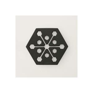 キャッシュレス還元 南部鉄器 釜定 鍋敷き 六角鍋敷|designshop-jp