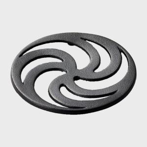 キャッシュレス還元 鋳心ノ工房 鍋敷き 渦輪   ネコポス対応可|designshop-jp