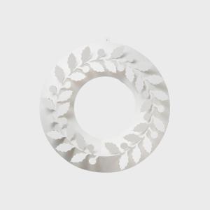 キャッシュレス還元 クリスマス リース  paper wreath ペーパーリース ひいらぎ S   ネコポス対応可|designshop-jp