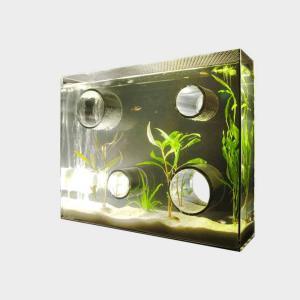 アクアリウム 水槽 private agualium ワイドサイズ アクアリウム 水槽 インテリアはプライベートアクアリウム designshop-jp
