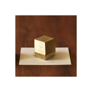 キャッシュレス還元 FUTAGAMI フタガミ ペーパーウェイト 文鎮 ぶんちん 菱形|designshop-jp