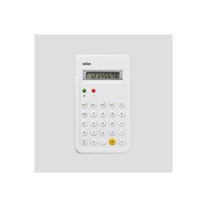 キャッシュレス還元 BRAUN ブラウン 電卓 計算機 ホワイト BNE001WH  ネコポス対応可|designshop-jp
