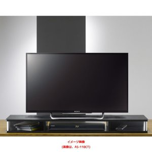 テレビ台 ちょい足しラック 幅110 完成品 TVの高さを少し上げたい用  as-as-110ct designstyle
