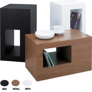 セル サイドテーブル ブラック az-cel-70bk designstyle