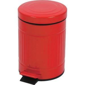 キューボ ゴミ箱 レッド 5L  az-lfs-071rd|designstyle