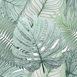 <title>キャンバスパネル Art Panel Seamless pattern tropical 新作送料無料 leaf paim 800x800x40mm IAP-52790 bic-7184399s1</title>