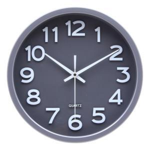 掛時計 スピカ Φ30cm グレー 2413-10 fj-27255|designstyle