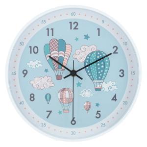 掛時計クララ Φ25cm 熱気球 6028 fj-27415|designstyle