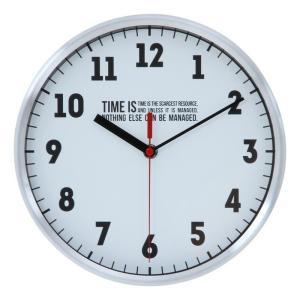 掛時計 タイムズ Φ25cm ホワイト SW8064 fj-53591|designstyle