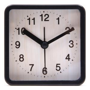 置時計 ウィル スクエア ブラック EG7704P-BM113 fj-99071|designstyle