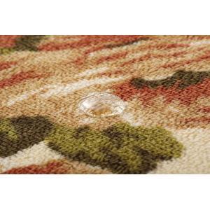 撥水キッチンマット 撥水キャンベル ブラウン約44×120cm ike-4140160s4|designstyle|07