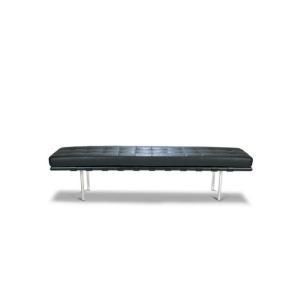 ミース・ファン・デル・ローエ バルセロナベンチ Lサイズ BarcelonaBench in-inv0001-025l|designstyle