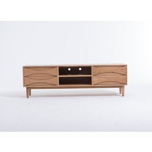 (保証付き)アーク TV ボード W180 ホワイトオーク kaw-g15023bwhoak|designstyle