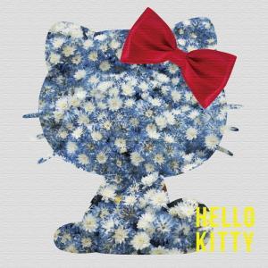 ハローキティ キティちゃん ファブリックボード アート アートパネル HELLO KITYハローキティ Mサイズ 30cm×30cm lib-4419349s1|designstyle