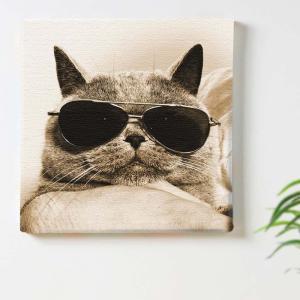 猫 アート アートパネル アートデリ Mサイズ 30cm×30cm lib-5109081s1 designstyle 02
