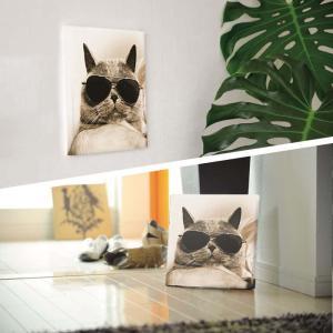 猫 アート アートパネル アートデリ Mサイズ 30cm×30cm lib-5109081s1 designstyle 03
