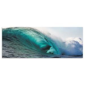 海 壁掛けアート サーフ poht-w-1705-02 ワイドサイズ アートパネル アートデリ ワイドサイズ 30cm×78.5cm lib-5527116s1|designstyle
