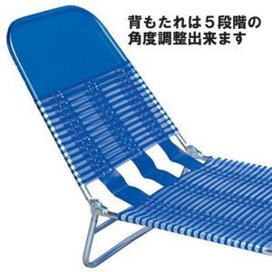海やプールで大活躍サマーベッド・チューブ 簡易ベッド na-nk-700bl|designstyle